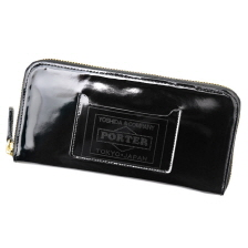 GLASS LEATHER WALLET