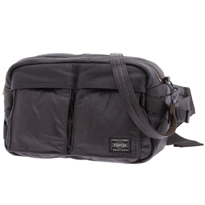 TANKER LEATHER WAIST BAG