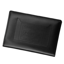 PORTER LEATHER PASSPORT CASE