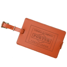 PS LEATHER WALLET GLASS LEATHER VER. LUGGAGE TAG